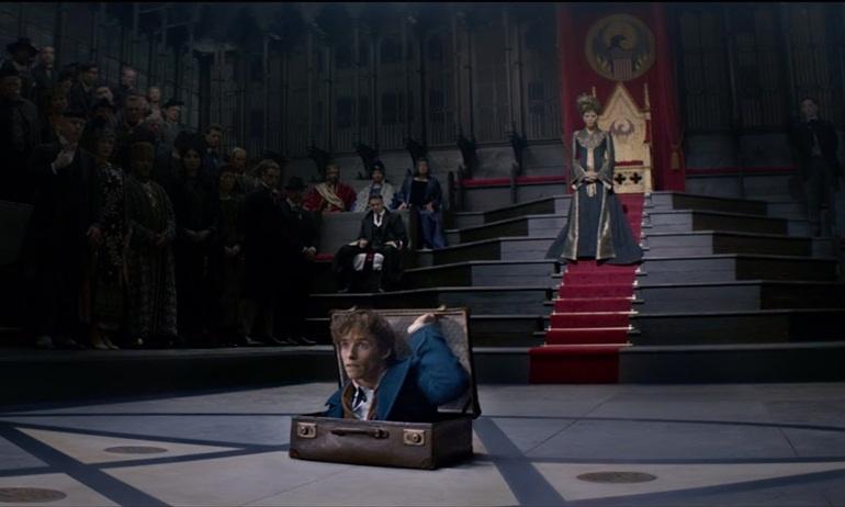 Clip hậu trường Fantastic Beasts cực hot hé lộ nhiều bí ẩn phép thuật