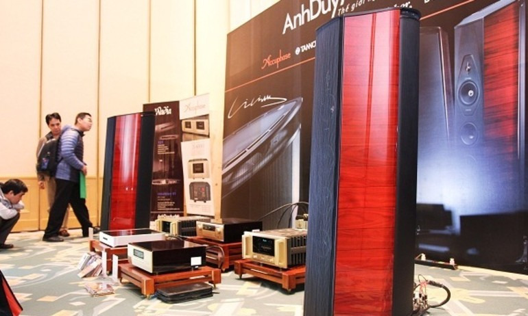 Sonus Faber Lilium: Phòng nghe Anh Duy