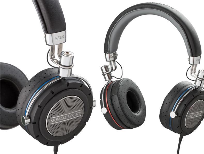 Musical Fidelity nâng cấp headphone MF200: vật liệu mới, tự nhiên hơn