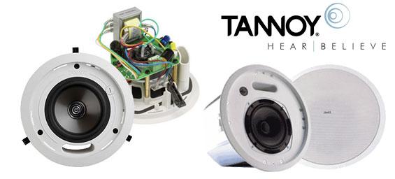 Tannoy giới thiệu 5 loa âm tường CMS 3.0