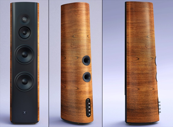 Thiel audio giới thiệu loa cột Avenue Collection TT1