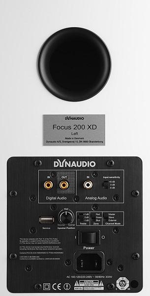 Dynaudio Focus XD: Loa chủ động kèm DAC 24 bit/192 Hz