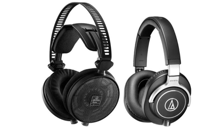Audio Technica giới thiệu loạt tai nghe trùm đầu cao cấp