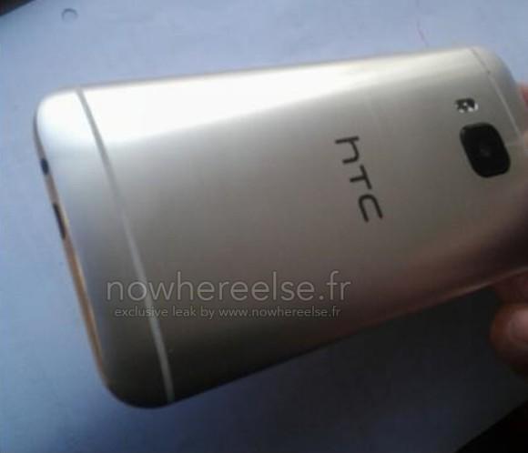 HTC ONE (M9) lộ diện với camera hoàn toàn mới