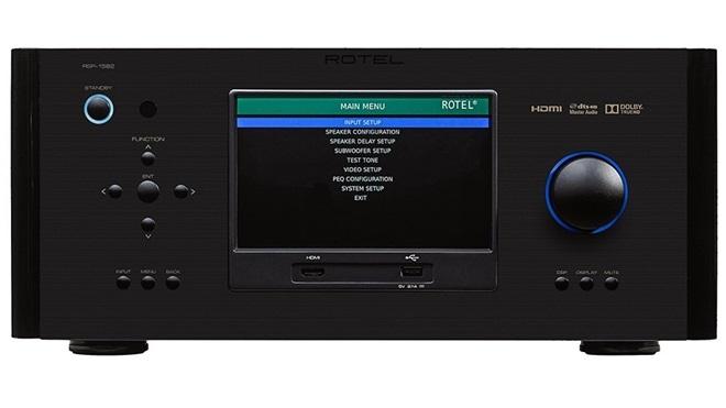Rotel giới thiệu receiver đa kênh 7.1 RSP-1582 giá 3.500USD