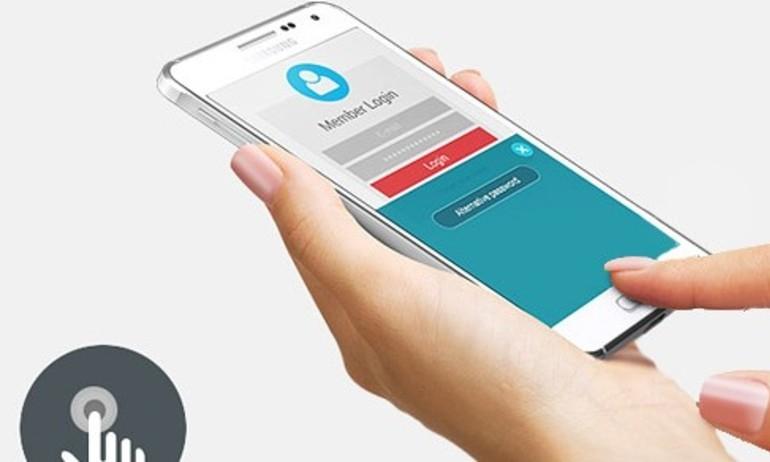 Galaxy S6 có thể dùng cảm biến vân tay như iPhone