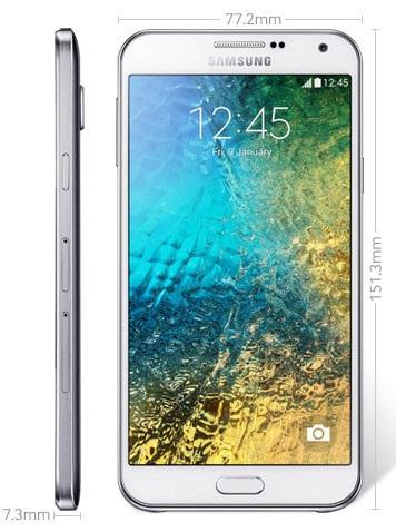 Samsung tiếp tục tung ra smartphone kim loại Galaxy E5 và E7