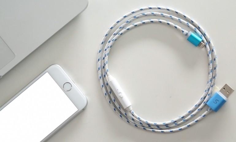SONICable – cáp sạc nhanh gấp đôi cho smartphone