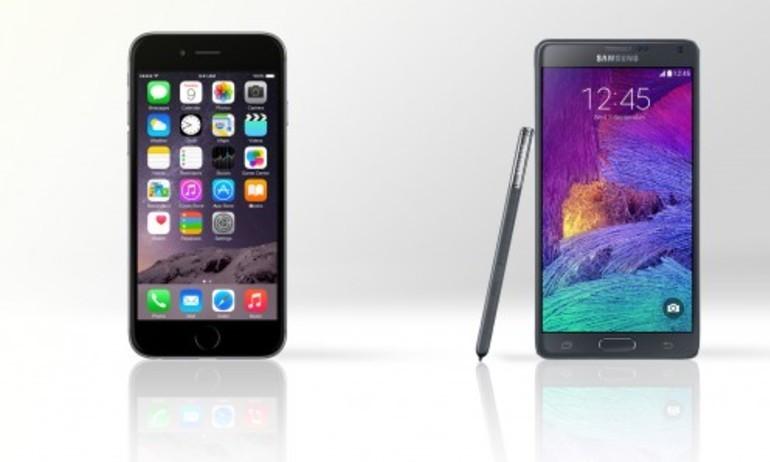 Cuối năm 2014: iPhone 6 bội thu, Samsung tụt dốc