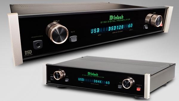 McIntosh ra mắt preampli số kiêm DAC D150