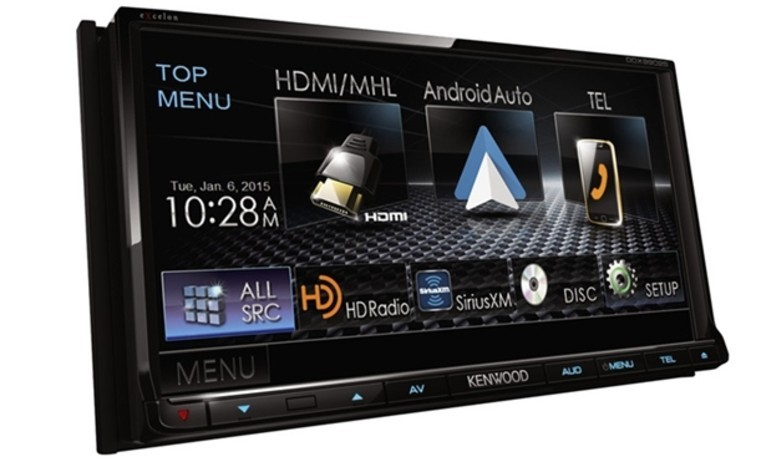 Kenwood giới thiệu receiver xe hơi dùng Android Auto