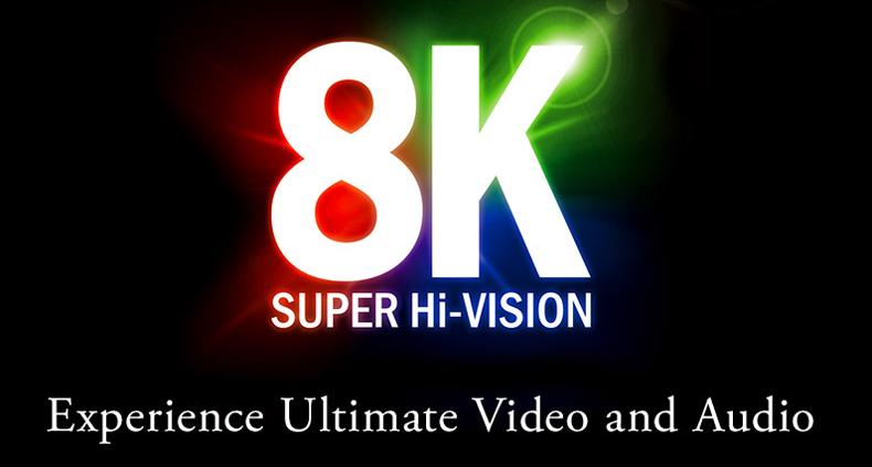 Nhật Bản sẽ phổ cập nội dung 8K vào năm 2020