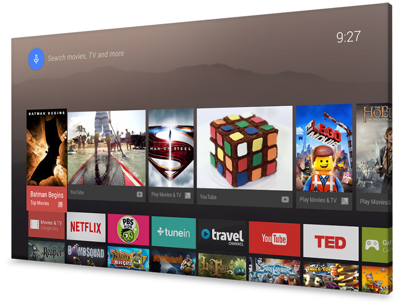 Smart TV 2015 của Sony sẽ chạy Android TV