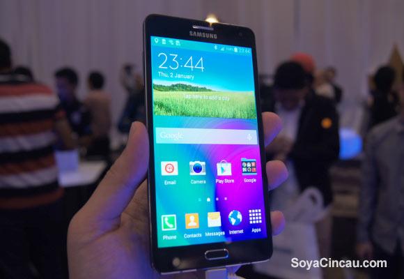 Samsung chính thức ra mắt smartphone Galaxy A7 và Grand Max