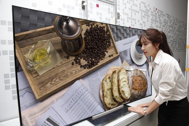 """LG hy vọng 2015 sẽ là """"năm bùng nổ"""" của TV OLED"""