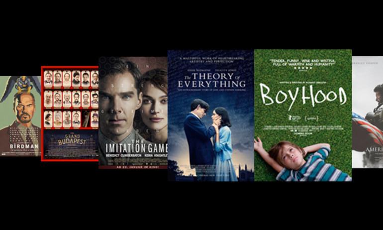 8 đề cử Phim hay nhất Oscar lần thứ 87