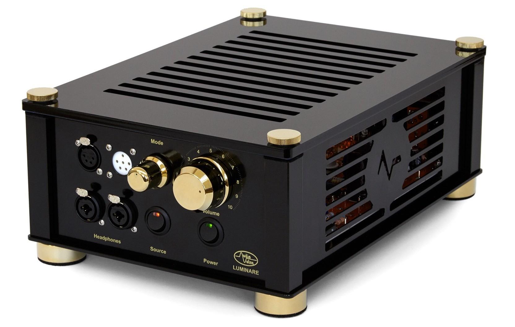 Audio Valve Luminare: ampli OTL chạy đèn điện tử