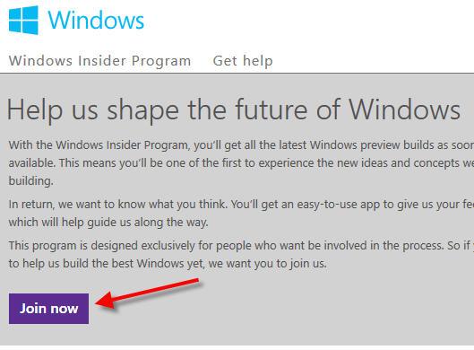 Hướng dẫn cài đặt Windows 10 Technical Preview