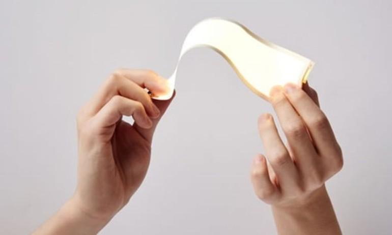 LG sản xuất màn hình OLED uốn dẻo như giấy từ 2015
