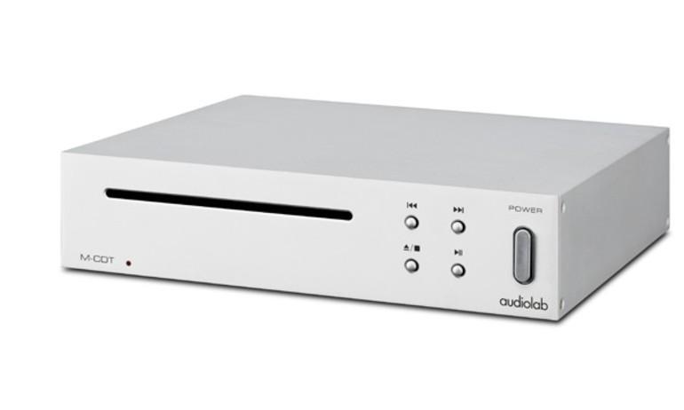 Audiolab ra mắt transport M-CDT cho người hoài niệm đĩa CD