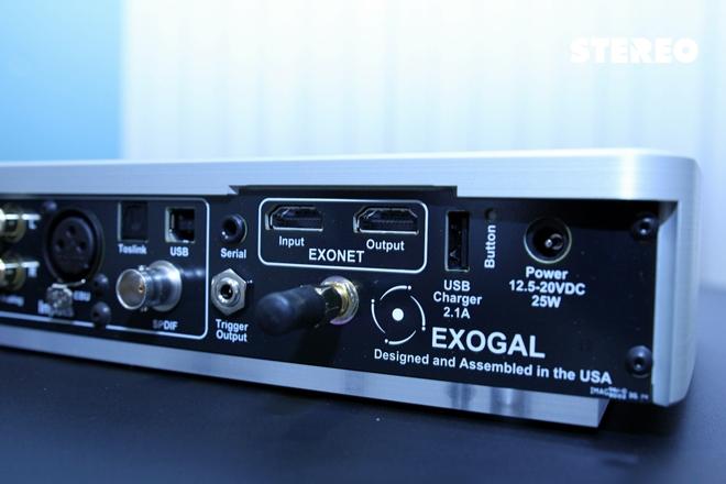 Exogal Comet DAC: Giải mã DSD 128
