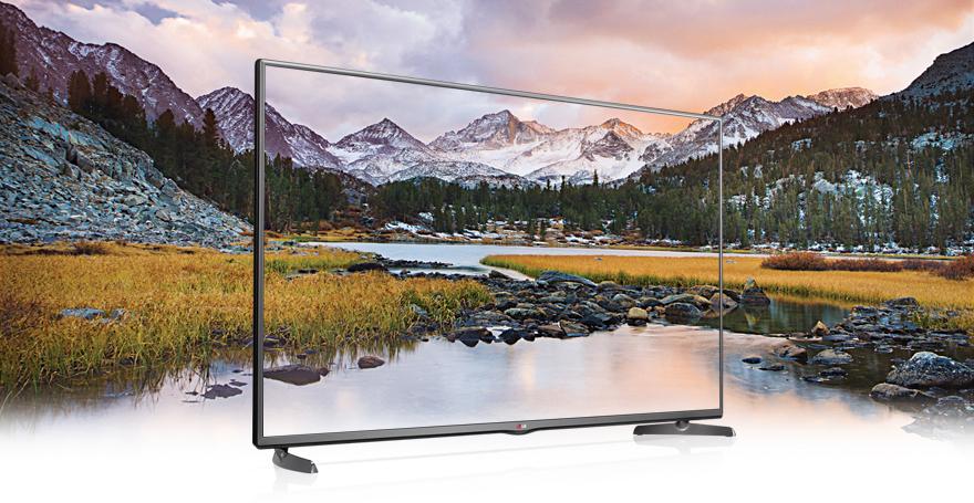 Smart TV LG LB582T – hấp dẫn từ kiểu dáng tinh tế