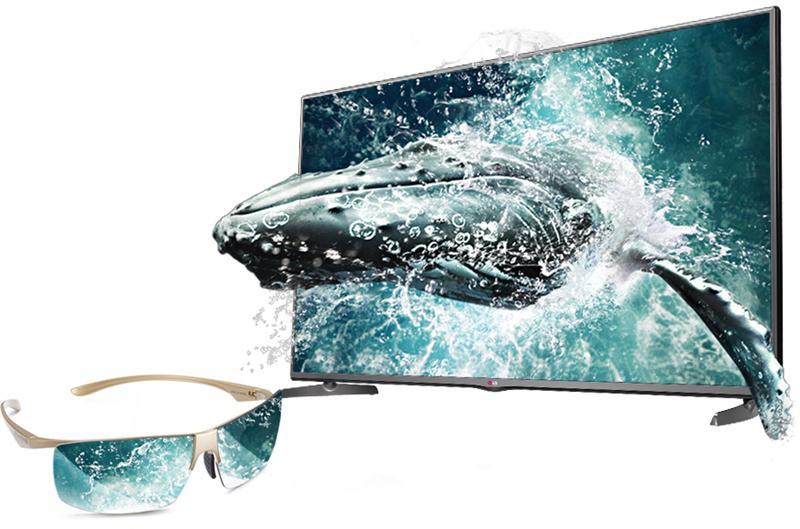 TV LG LB620T – xem 3D thụ động giá mềm