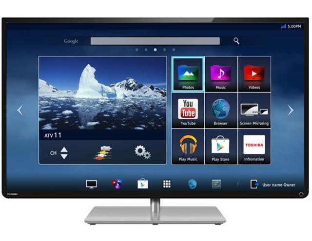 Smart TV Toshiba L43 Series: Truy cập internet tốc độ cao
