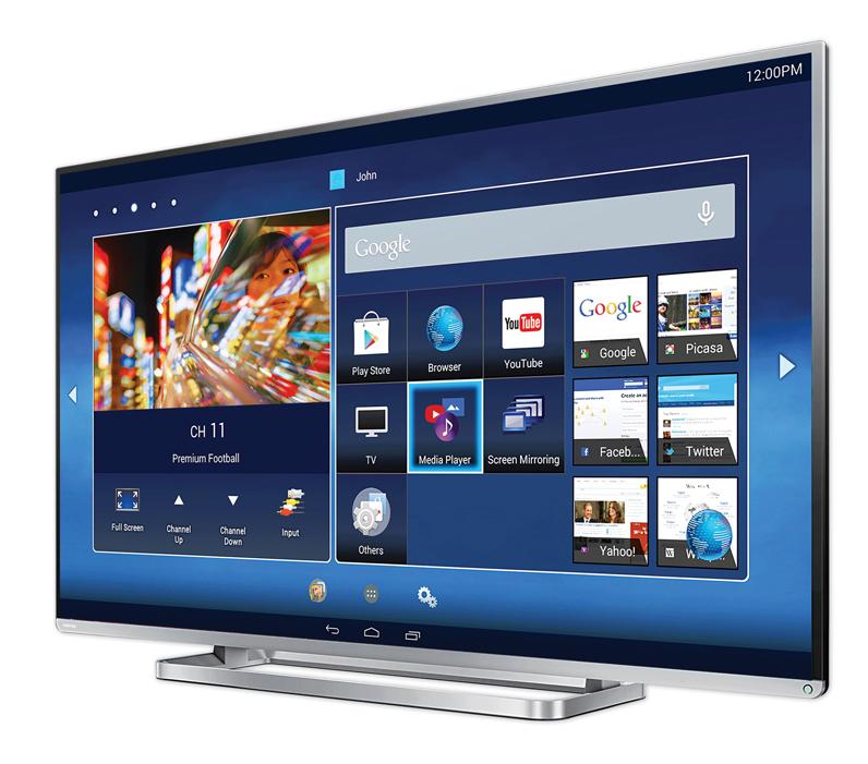 Smart TV Toshiba L54 – thông minh hơn với Android 4.4