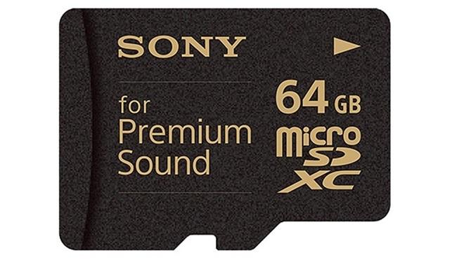 Sony tiên phong với thẻ nhớ SD để nghe nhạc high-end
