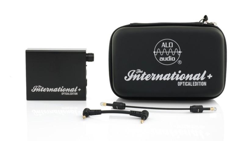 ALO audio giới thiệu DAC di động International+ phiên bản Optical Edition