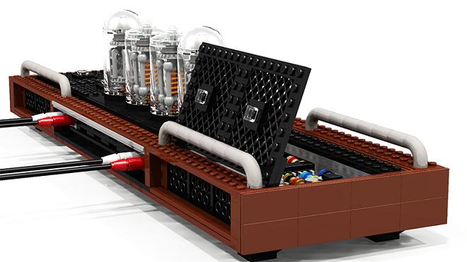 Cười vỡ bụng với dàn hi-end ghép từ Lego