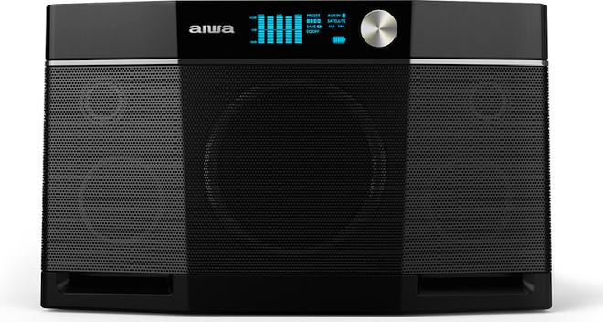 Aiwa tái xuất với loa Bluetooth Exos-9