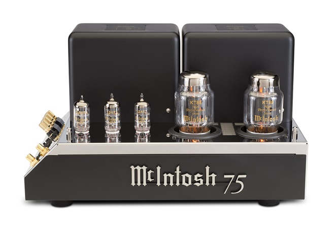 McIntosh mang ampli đèn mono MC75 trở lại sau 45 năm