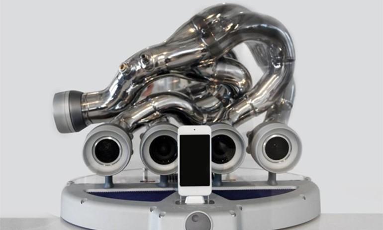 iXOOST chế tạo loa không dây từ pô siêu xe