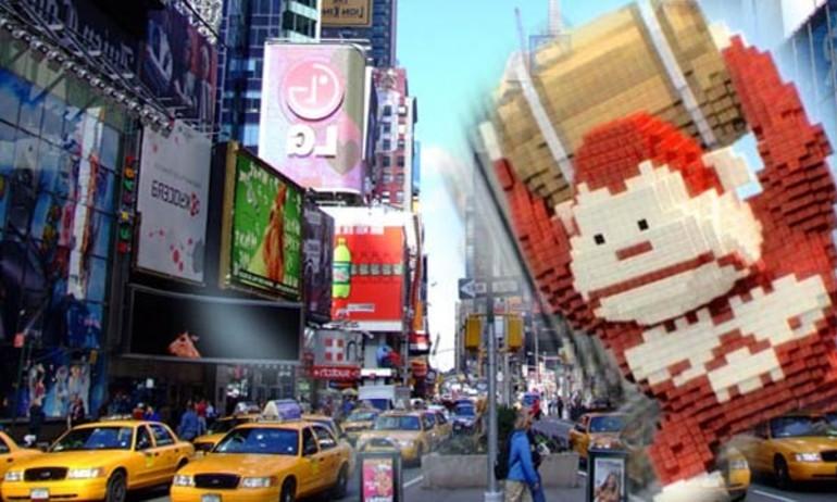 Sony tung trailer phim Pixels: game điện tử ra đời thực