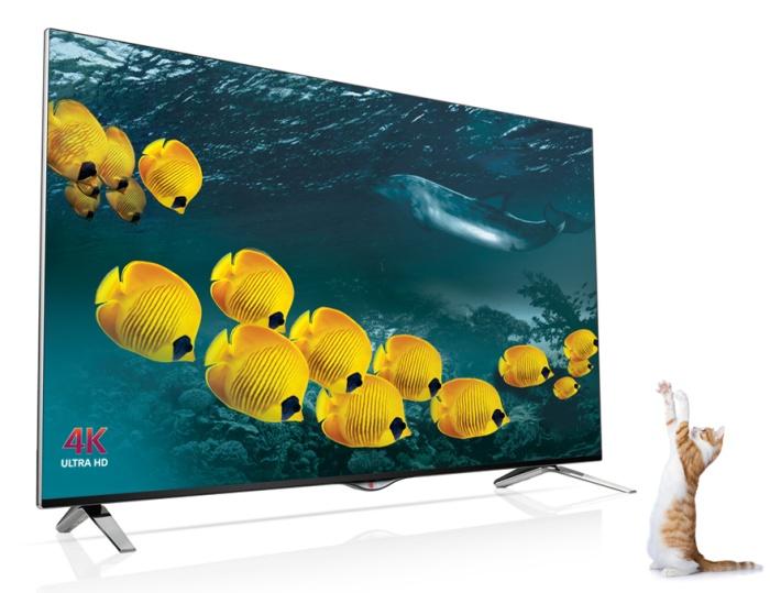 Smart TV LG UB700T: TV thông minh độ phân giải 4K