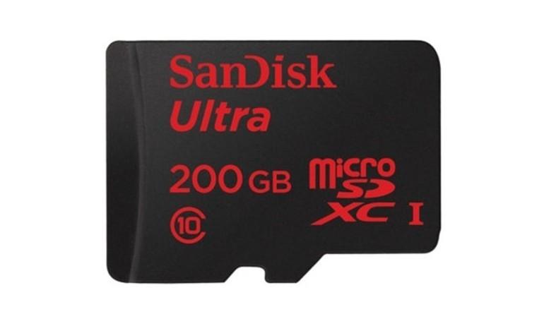 Sandisk ra mắt thẻ nhớ microSD 200GB đầu tiên trên thế giới