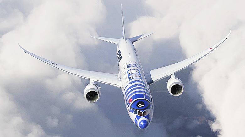 Hàng không Nhật ra mắt máy bay Star Wars