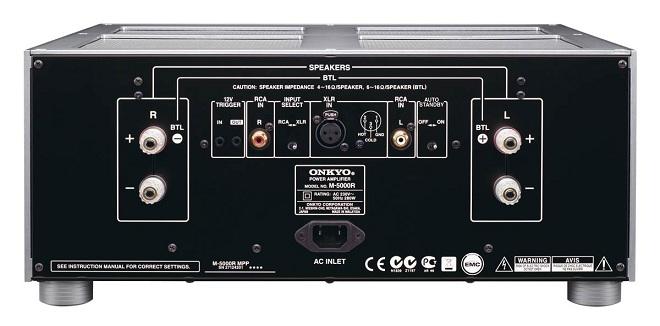 Hoài niệm với ampli công suất Onkyo M-5000R