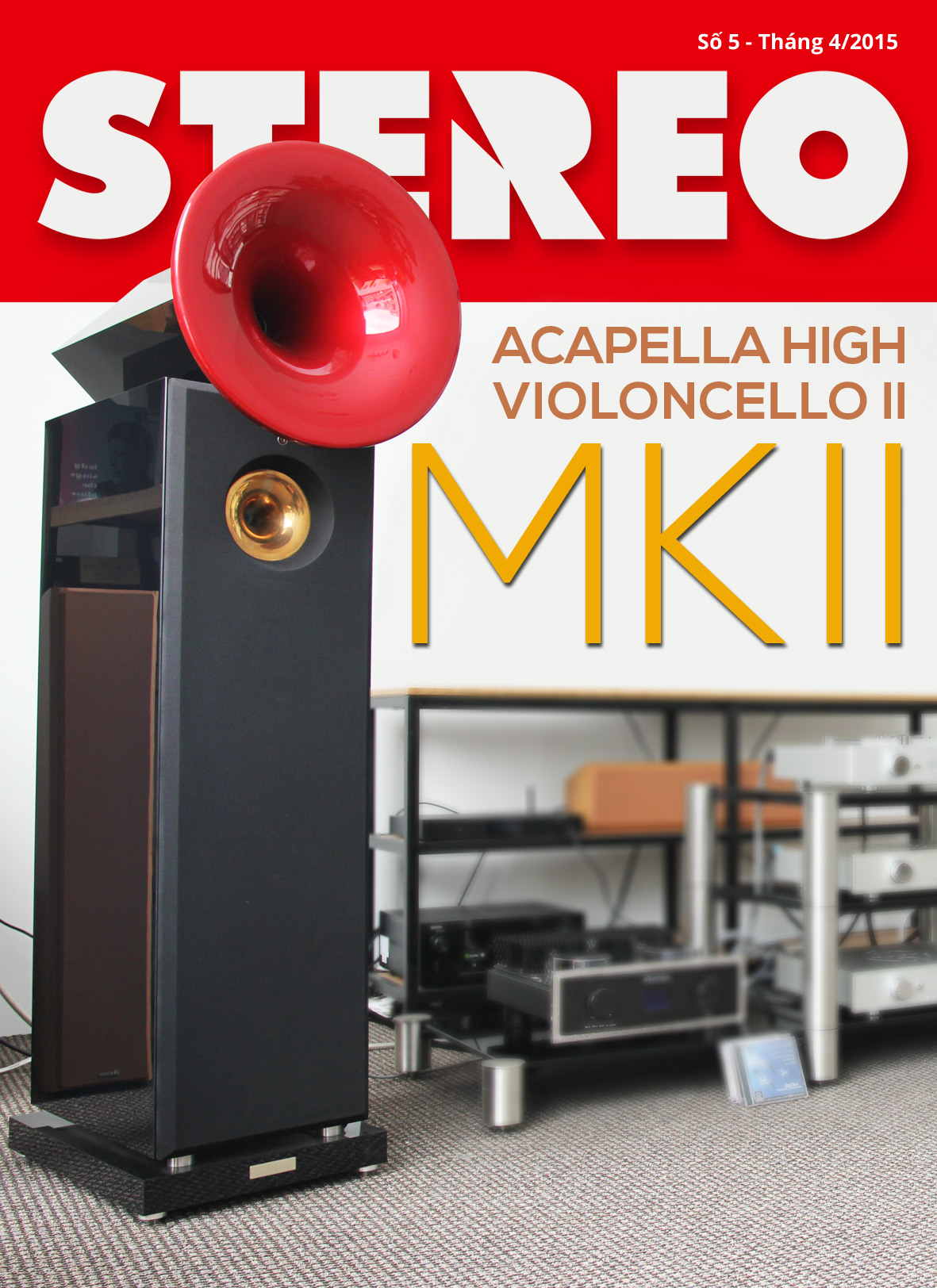 Tạp chí Stereo số 5: tháng 4/2015