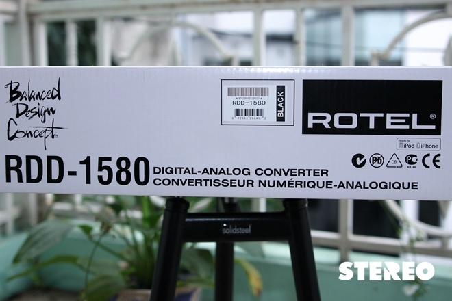 Rotel RDD 1580: Thổi hồn vào nhạc số