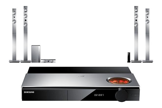 Dàn xem phim Samsung HT-F9750W 7.1: Độc, lạ với bóng đèn điện tử