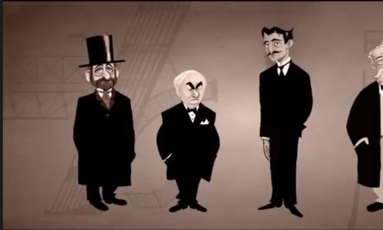 Đoạn hoạt hình hé lộ bí mật lịch sử của Tomorrowland