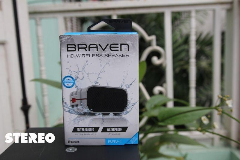 Loa Bluetooth Braven BRV-1: chống nước, chống sốc, có sạc dự phòng