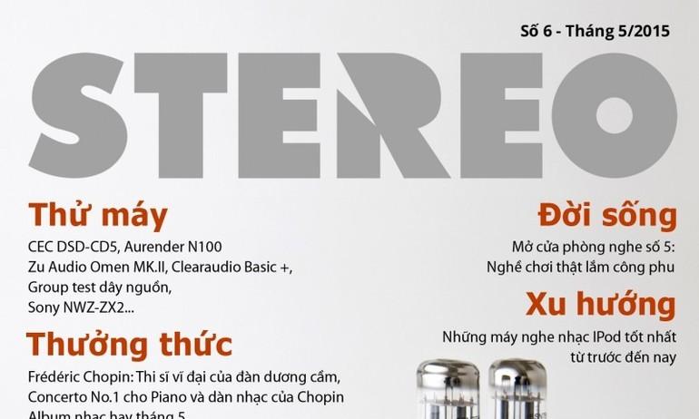 Tạp chí Stereo số 6: tháng 5/2015