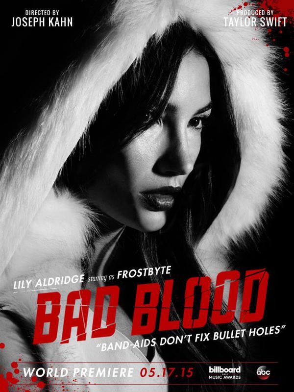 'Bad Blood': MV mới quy tụ dàn mỹ nhân 'khủng' của Taylor Swift