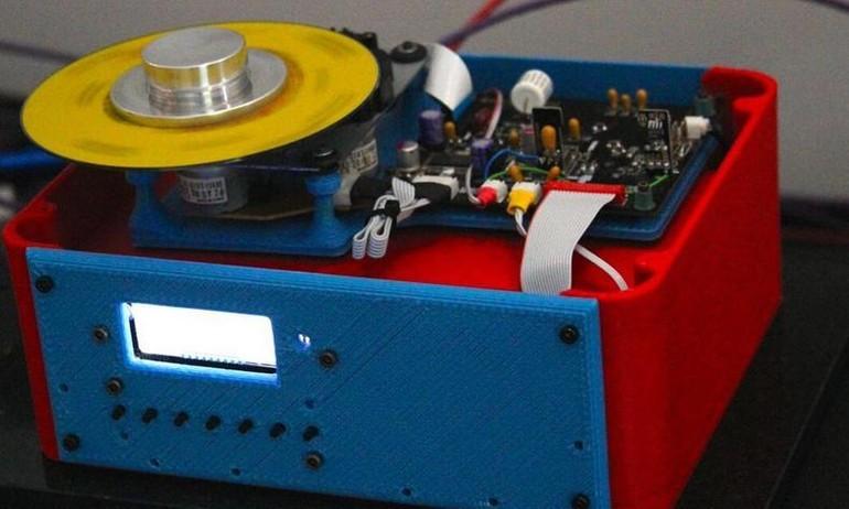 Đầu đọc CD đầu tiên trên thế giới được chế tạo từ máy in 3D