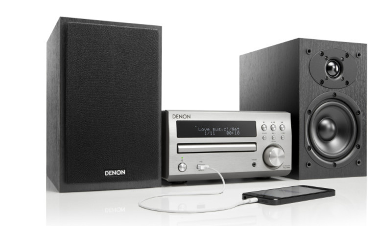 Denon giới thiệu D-M40, hệ thống âm thanh hi-fi nhỏ gọn