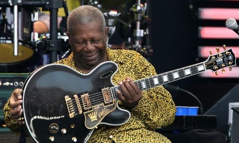 Câu chuyện thú vị về cây guitar Lucille của B.B. King